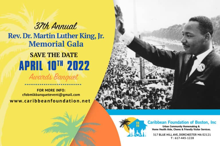 Save the Date 37th MLK 2022